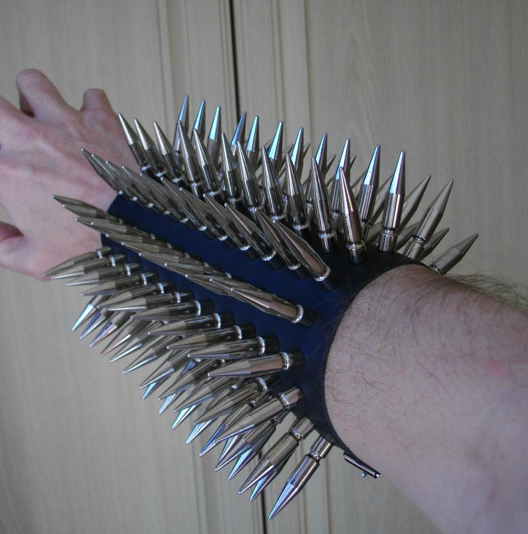 Click To See Our Superb Range Of Heavy Metal Gauntlets & Armbands