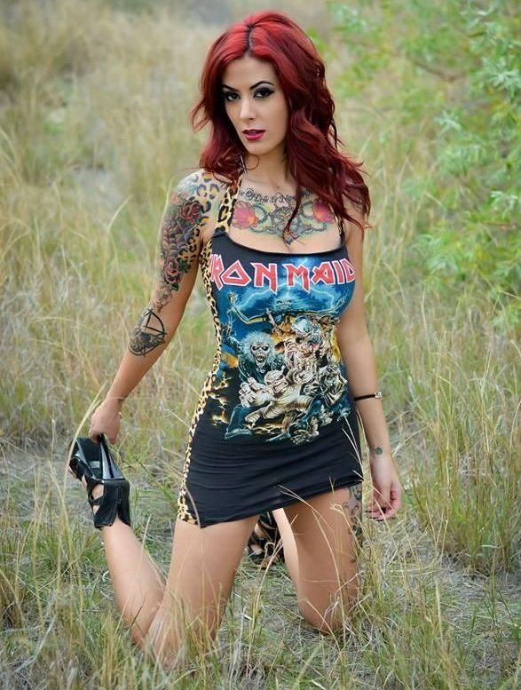 Click To See Our Fantastic Range Of Heavy Metal Clothing Rock Chick Fashion